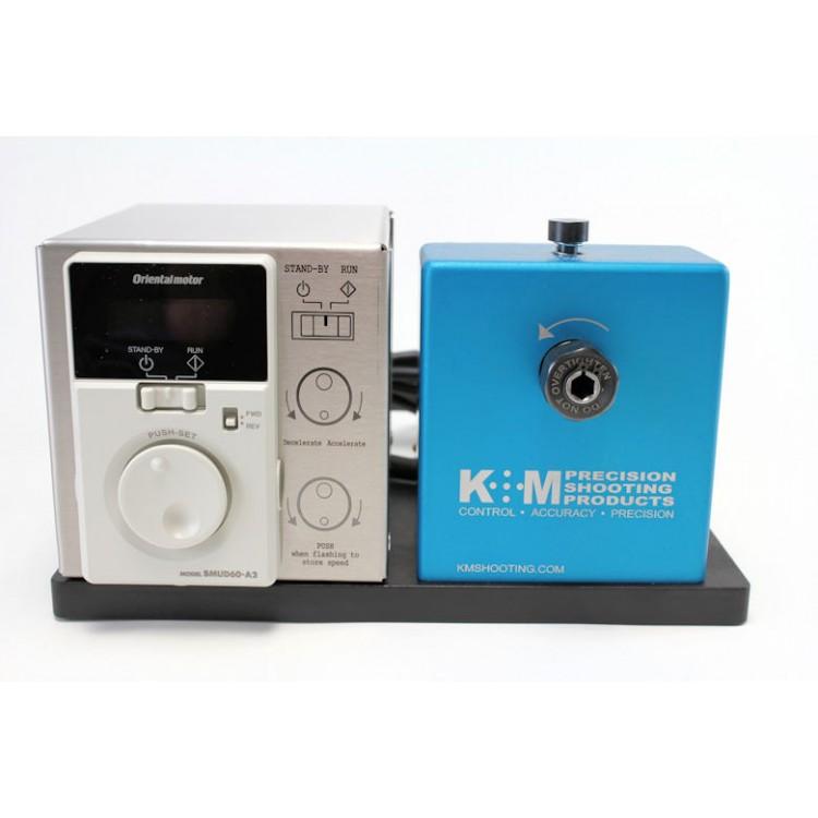 K&M Benchtop Case Prep Machine 50-200 RPM