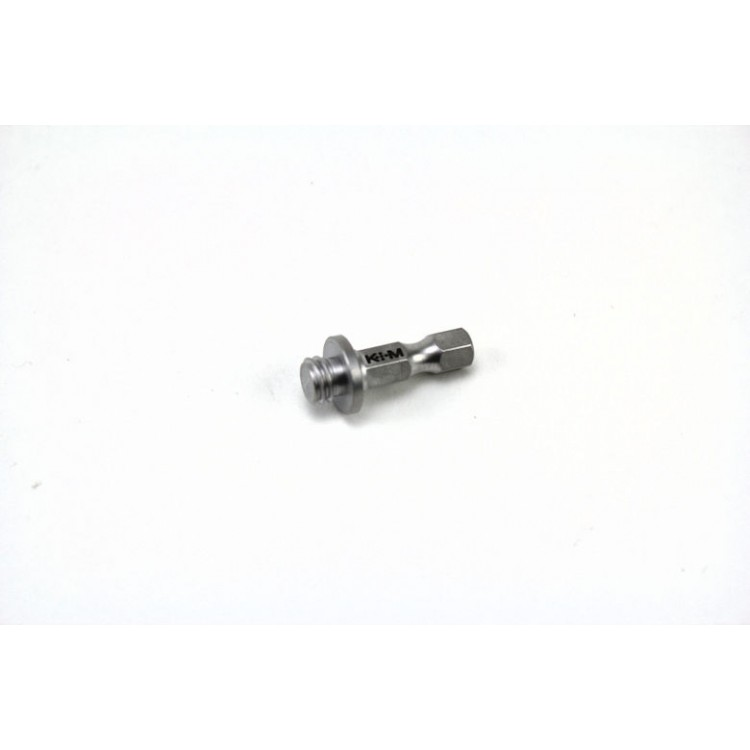 1/4'' Hex Drive Adapter 5/16-18 for Tapered Reamer