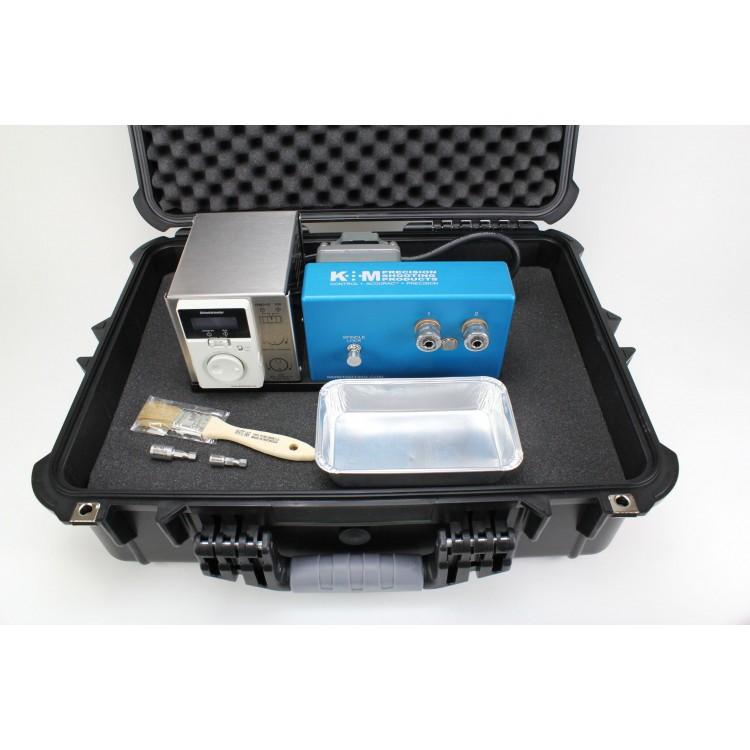 K&M Benchtop Case Prep Machine 2 Spindles