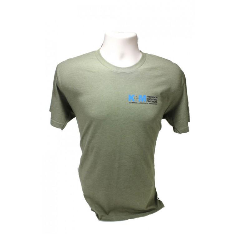 Military Green Triblend K&M T-Shirt