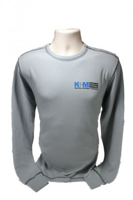 Granite Black Thermal K&M Long Sleeve