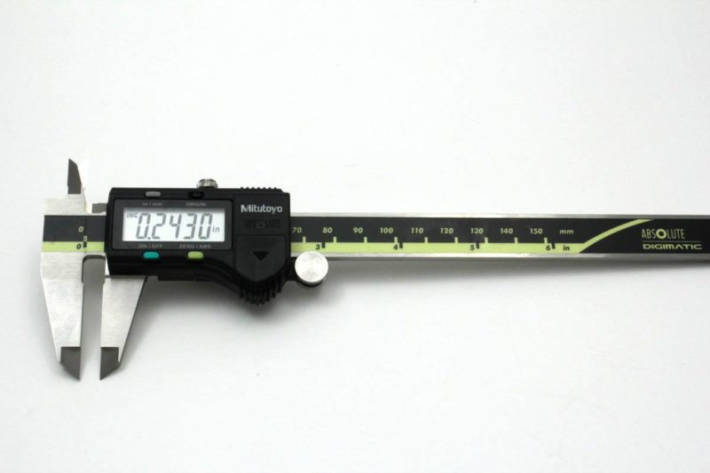 Mitutoyo Digimatic Caliper .0005 Resolution-0