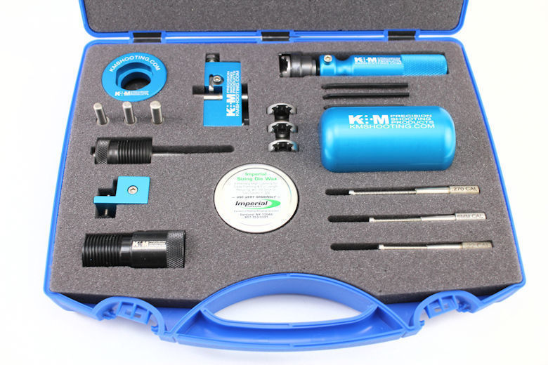 Micro-Adjustable Neck Turner Kit - CASE ONLY-0