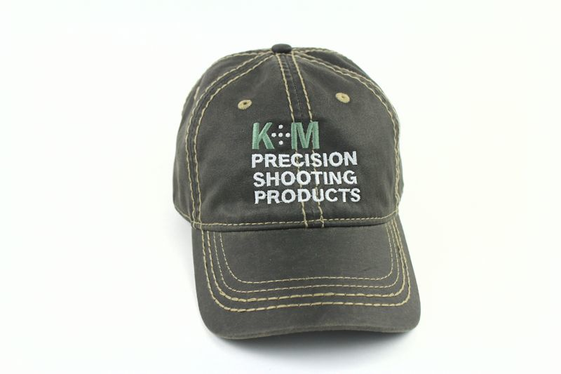 K&M Logo Hat - Washed Camo Twill with Pink Accents-740