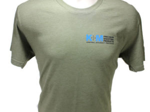 Military Green Triblend K&M T-Shirt-0