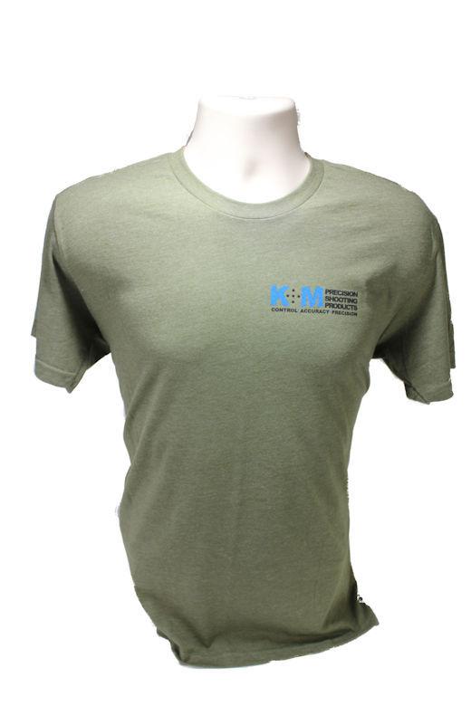 Military Green Triblend K&M T-Shirt-0