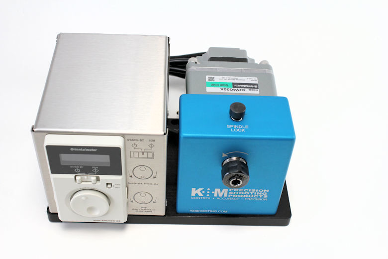 K&M Benchtop Case Prep Machine 50-200 RPM-1425