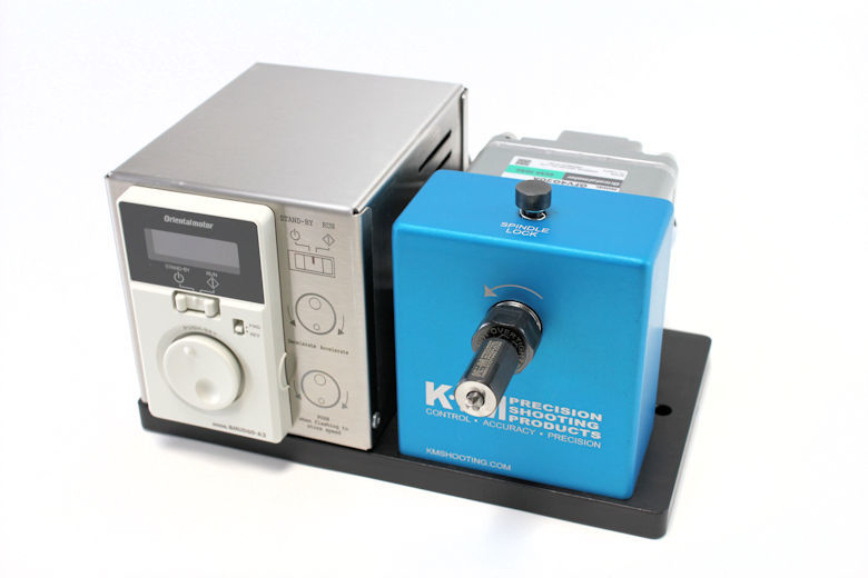 K&M Benchtop Case Prep Machine 50-200 RPM-1428