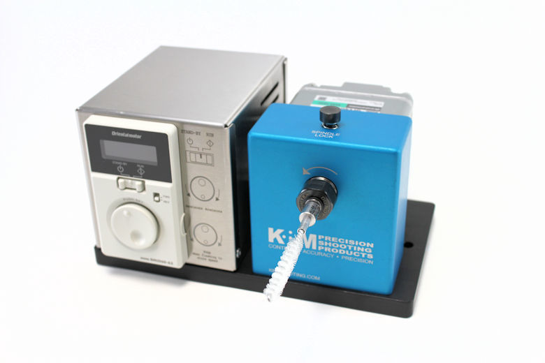 K&M Benchtop Case Prep Machine 50-200 RPM-1427