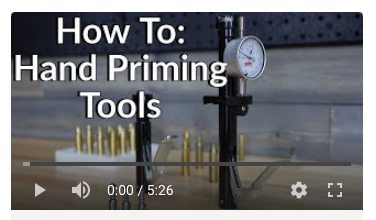primer gauge primer seater deluxe how to precision reloading